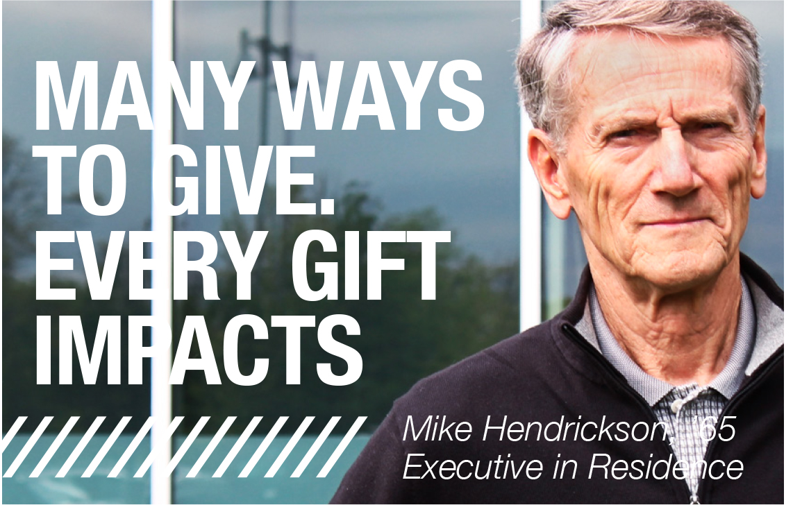 Many ways to give. Every Gift impacts.